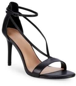 Halston Strappy Stiletto Sandals