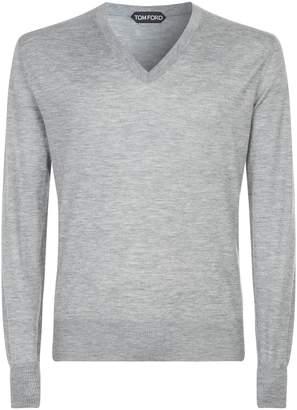 Tom Ford V-Neck Cashmere Sweater