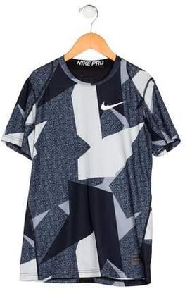 Nike Boys' Printed Knit Shirt