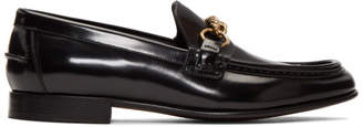 Burberry Black Chain Solway Loafers