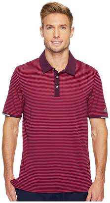 adidas climachill Tonal Stripe Polo Men's Short Sleeve Pullover
