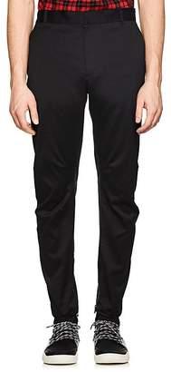 Lanvin Men's Relaxed Biker Cotton Trousers