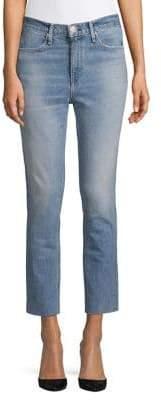 Rag & Bone Frayed Cigarette-Leg Jeans