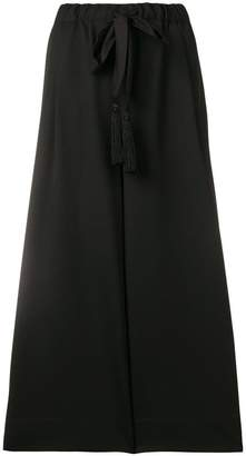 Forte Forte wide leg cropped trousers