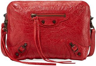 Balenciaga Classic Reporter XS Lamb Leather Crossbody Bag