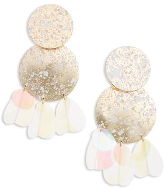 BP Disc Statement Earrings