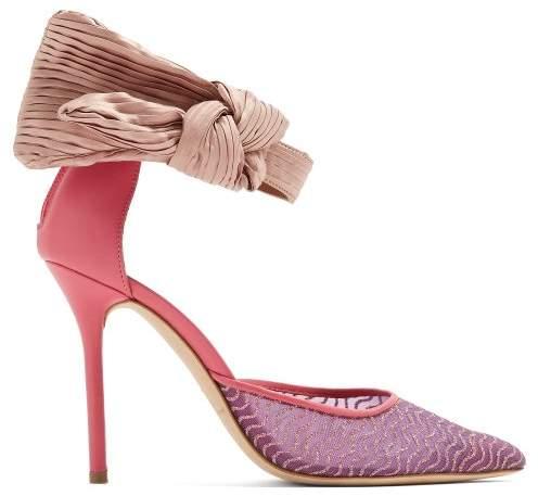 Malone Souliers - X Emanuel Ungaro Elle Pumps - Womens - Pink Multi