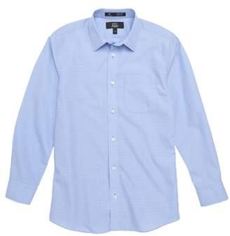 Nordstrom Dobby Checks Dress Shirt