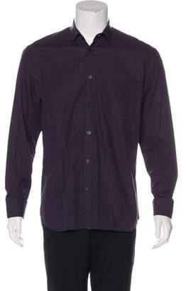 Billy Reid Woven Checkered Shirt
