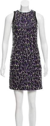 Versace Sleeveless Bouclé Dress