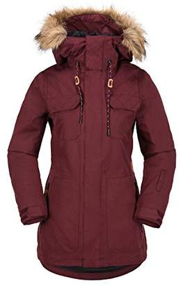 Volcom Junior's Shadow Insulated 2 Layer Shell Snow Jacket