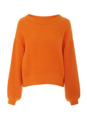 I Love Mr Mittens Rib-Knit Wool Sweater