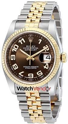 Rolex Oyster Perpetual Datejust Jubilee Automatic Men's Watch 116233BRAJ