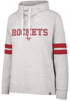 '47 Women Houston Rockets Offsides Funnelneck Sweatshirt