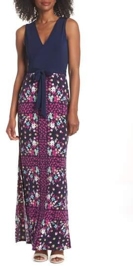 Perfect Faux Wrap Maxi Dress
