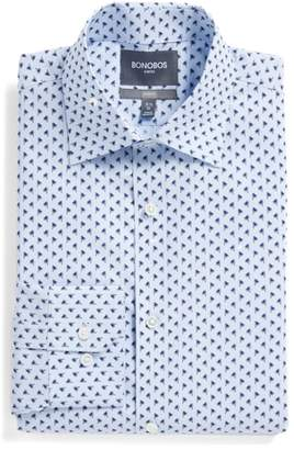 Bonobos Jetsetter Slim Fit Print Dress Shirt