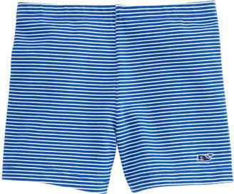 Vineyard Vines Girls Fine Line Stripe Tumble Shorts