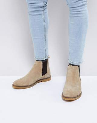 Base London Ferdinand Suede Chelsea Boots