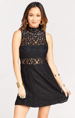 Show Me Your Mumu Alexa Dress ~ Fleur De Lis Lace Black