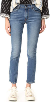 Levi's 505 C Cropped Slim Straight Jeans