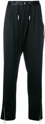 Marques Almeida Marques'almeida side zip tapered trousers