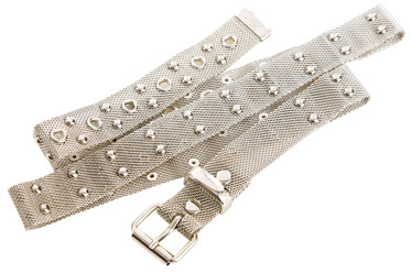Mesh Studded Belt