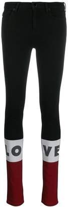 Love Moschino low-waist skinny jeans