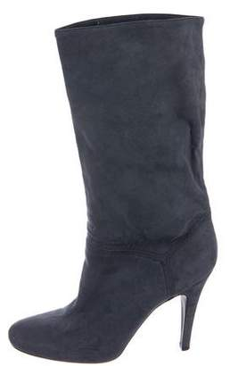 Stella McCartney Suede Mid-Calf Boots