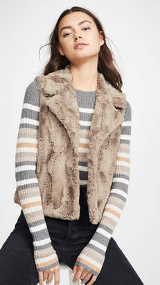 BB Dakota Jack By Aint It Fuzzy Faux Fur Vest