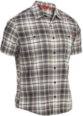 Ems Men's Ranger Plaid Short-Sleeve Cotton Shirt