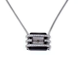 Van Cleef & Arpels Pendant Diamond Watch Art Deco Style