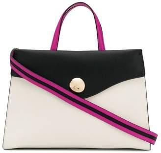Tosca colour block shoulder bag