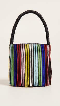 Sensi Studio Mini Mini Beaded Bucket Bag