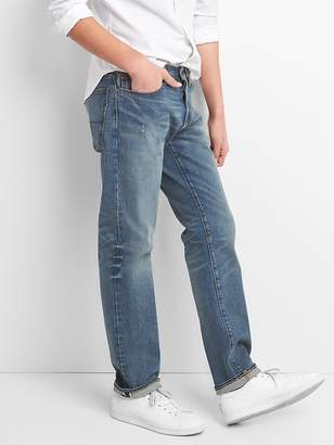 Gap Cone Denim® Selvedge Jeans in Straight Fit with GapFlex