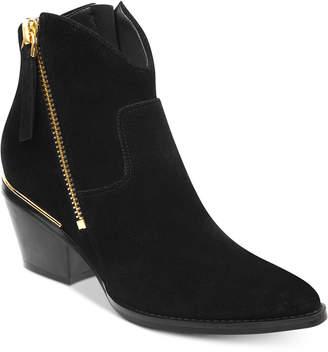 GUESS Women's Nalony Western Booties Women's Shoes