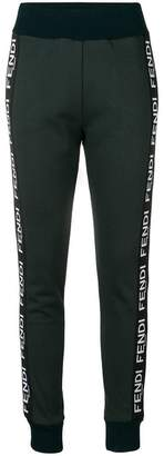 Fendi tapered jogging trousers