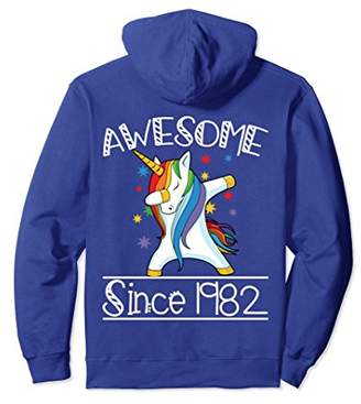 36th Birthday Gifts Vintage 82 Awesome Since 1982 Hoodie