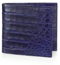 Santiago Gonzalez Crocodile Billfold Wallet