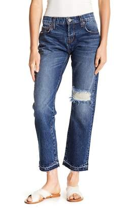 Current/Elliott Baggy Distressed Jeans