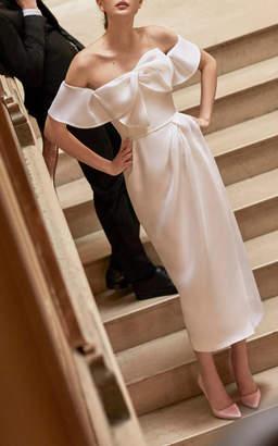 Carolina Herrera Bridal Harley Off-The-Shoulder Dress