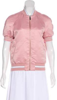 Pinko Satin Bomber Jacket