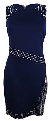 GUESS Women's Cocktail Dress with Metal Embellishment