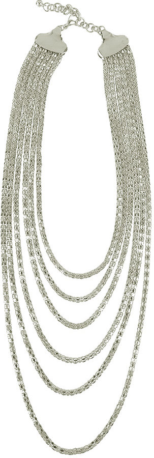 Multiple Snake Chain Necklace