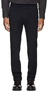 Rrl Men's Wool-Cotton Trousers-Navy Size 28w 32l