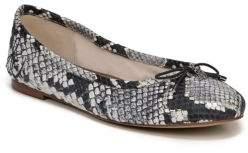 Sam Edelman Felicia Diamante Snake Print Flats
