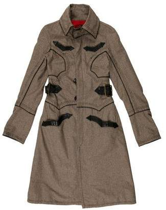 DSQUARED2 Patterned Long Coat
