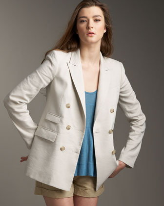 Theory Double-Breasted Blazer