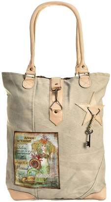 Vintage Addiction Always Be Yourself Canvas Tote
