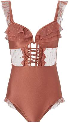 Zimmermann Corsair Frill One Piece