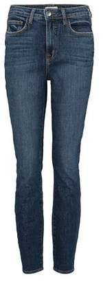 L'Agence High 10 Skinny Jeans in Classic Vintage